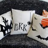 Halloween PIllows | Crazy4Embroideyr