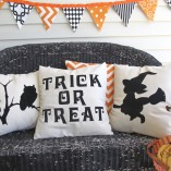 Halloween Pillows |Crazy4Embroidery
