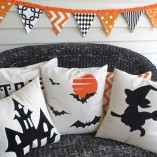 Halloween Pillows 4 |Crazy4Embroidery