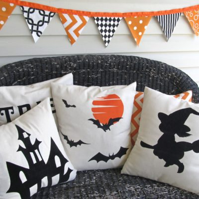 Halloween Pillows 4 |Crazy4Embroidery