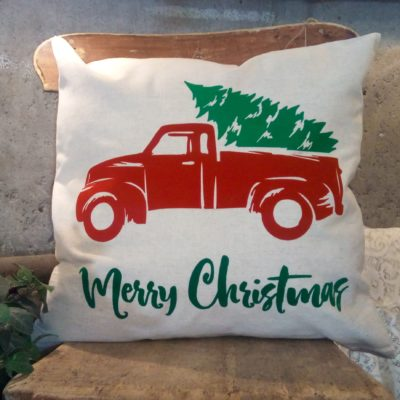 Crazy4Embroidery christmas Truck