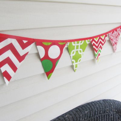 Christmas Bunting Mixed 1|Crazy4Embroidery