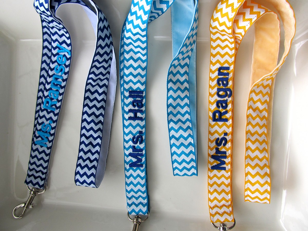 Personalized Lanyards Crazy4embroidery Com
